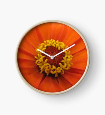 Yellow circle Clock