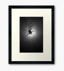 Embracing The Sun Framed Print