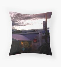Boots in Lobethal  Throw Pillow