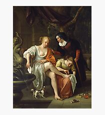 Jan Steen - Bathsheba After The Bath Photographic Print
