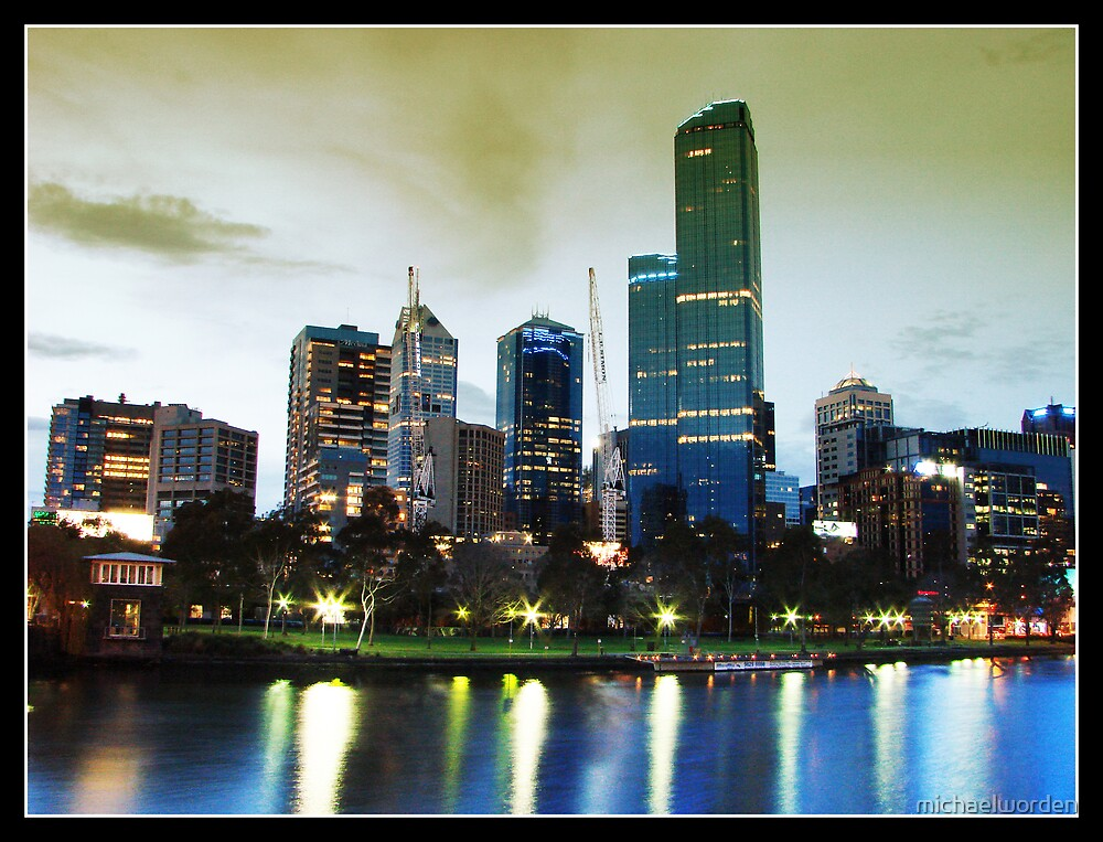 Melbournes Lights by michaelworden