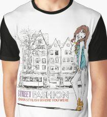 Street Fashion Graphic T-Shirt