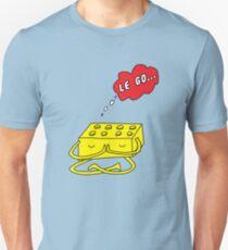 Let Go... of the mental block Unisex T-Shirt