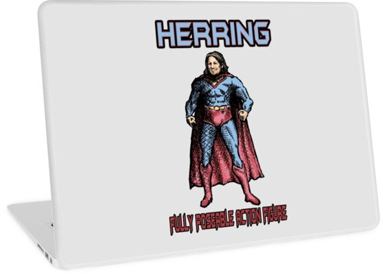 Richard Herring Action Figure by SlideRulesYou