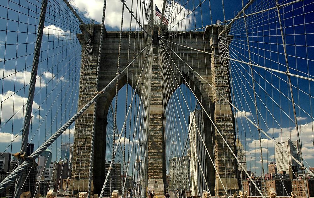 Brooklyn Bridge by hockeynyr35