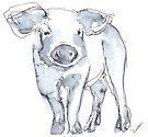 Piglet by Kendra Shedenhelm