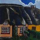thatch cottage by Ronan Crowley