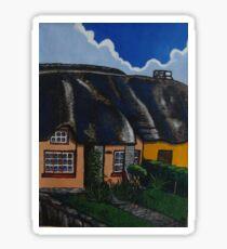 thatch cottage Sticker