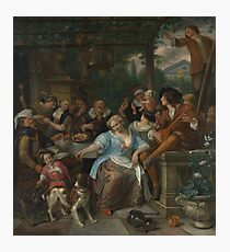 Jan Steen - Merry Company On A Terrace Photographic Print