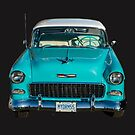 55 Chevrolet Bel Air by Dave  Knowles