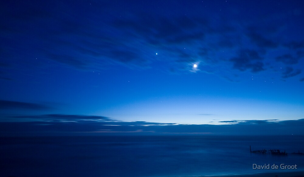 Pre-Dawn Blue by David de Groot