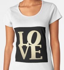 Love Park Philadelphia Sign Women's Premium T-Shirt
