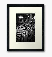 Wool Shed Framed Print