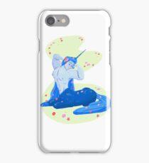 Spring Florals in Blue  iPhone Case/Skin