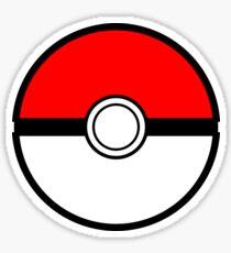 Pokeball Minimalist | Pokemon Sticker