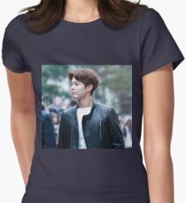 park bogum Womens Fitted T-Shirt