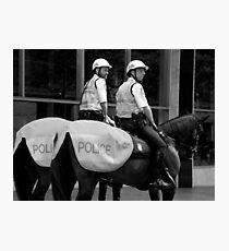 Cops Photographic Print