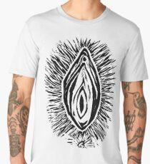 vagina pussy print Men's Premium T-Shirt