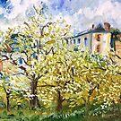 Pissarro's Orchard by Alma Lee