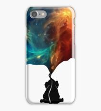 Painting The Universe - Baby Elephant iPhone Case/Skin