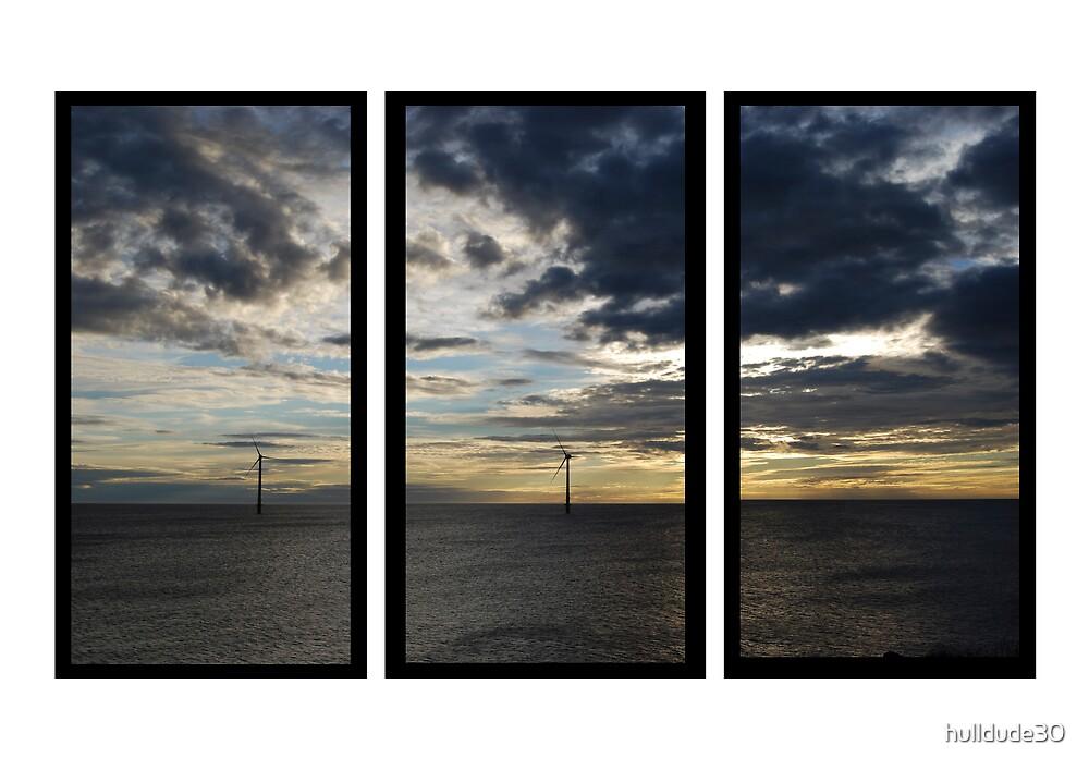 Blyth Coast Line Triptych by hulldude30
