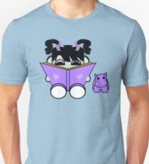 Mogo Yo & Crumple Love to Read: O'BABYBOT Toy Robot 1.0 Unisex T-Shirt