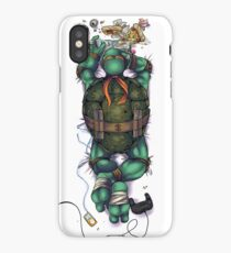 Life of a Teenage Turtle - Mikey iPhone Case