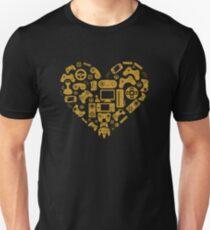 Video Game Heart T-Shirt