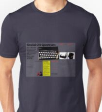 Sinclair 'ZX spectrum' advert. T-Shirt