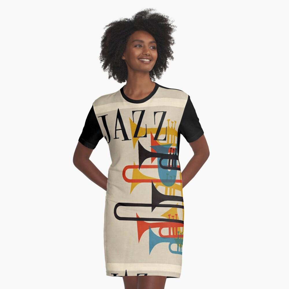 Jazz T-Shirt Kleid
