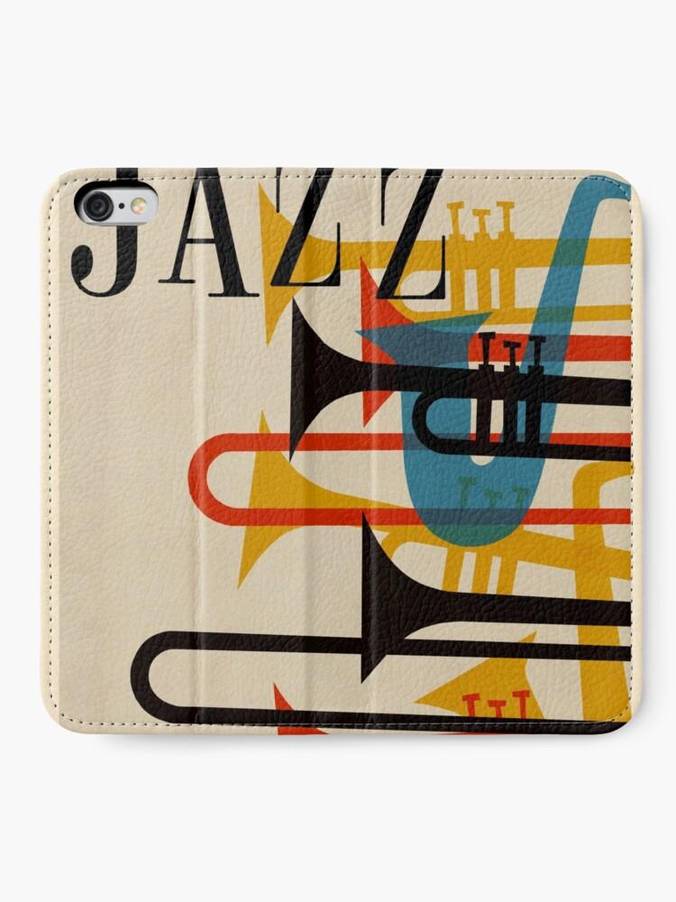 Alternative Ansicht von Jazz iPhone Flip-Case