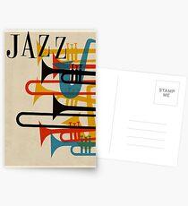 Jazz Postkarten