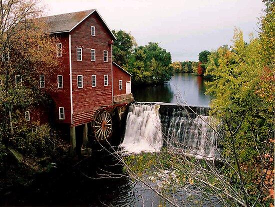 Augusta Grist mill by Tim Denny