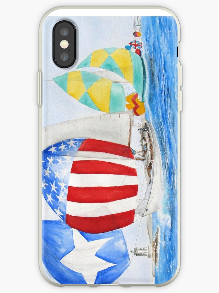 Parade of Sails - IPhone Case by Rob Beilby