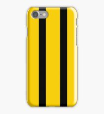 Pop Yellow and Black Stripes iPhone Case/Skin