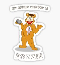 Spirit Muppet Fozzie Sticker