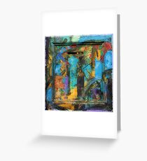 way out Greeting Card