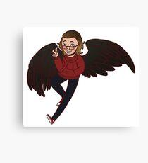 Little Angel Kid Canvas Print