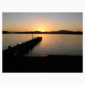 Dead Finish, Malacoota Top Lake, Gippsland, Victoria, Australia by maternity