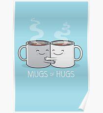 Mugs of Hugs Poster