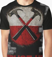 Roger Waters 'The Wall' - TRUST US Graphic T-Shirt