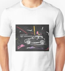 Scribble car on chalkboard T-Shirt