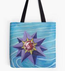 Pokemon Painting - Starmie Tote Bag