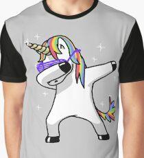 Camiseta gráfica Dabbing Unicorn Shirt Dab Hip Hop Funny Magic