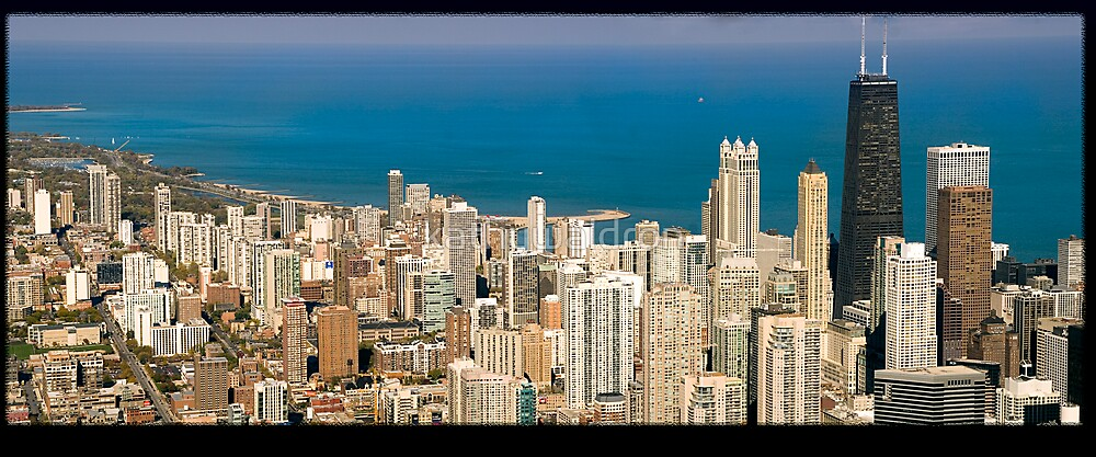 View of Chicago by kathywaldron