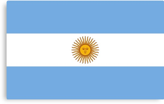 Buenos Aires Flagge
