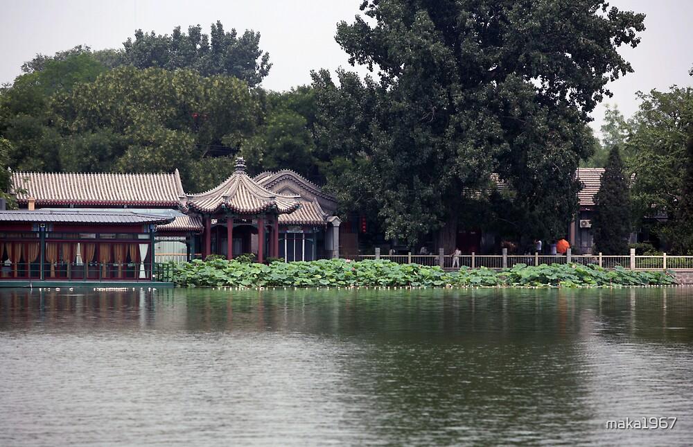 Shi-Cha-Hai Park in Beijing by maka1967