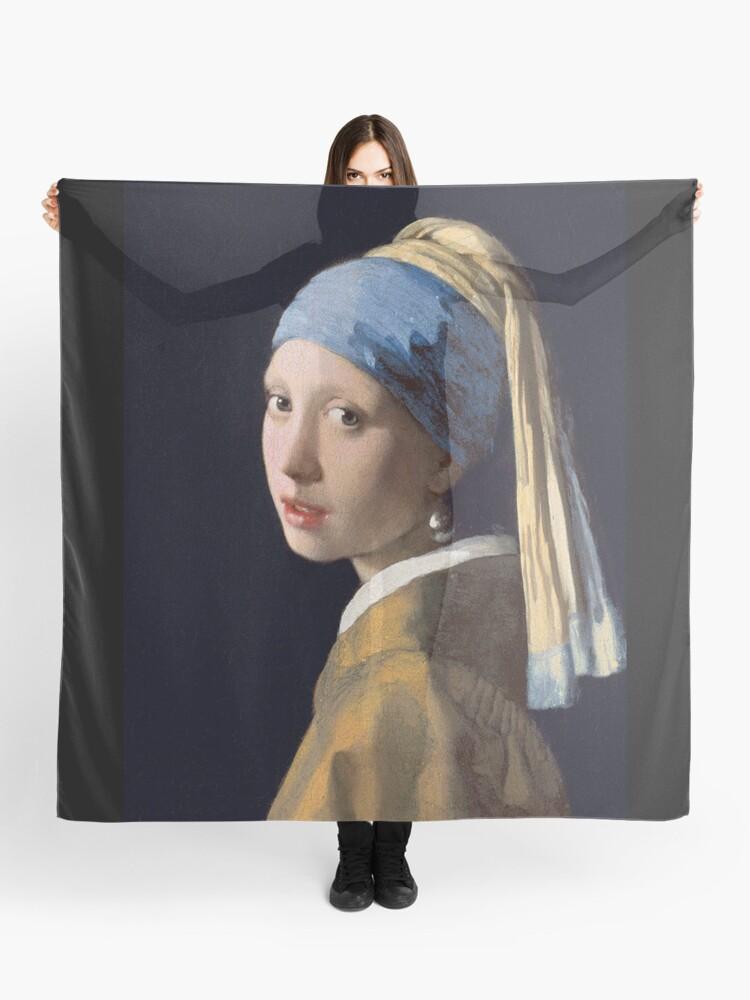 Mädchen Mädchen Mit Einem Perlenohrring Kunst Malen Vermeer