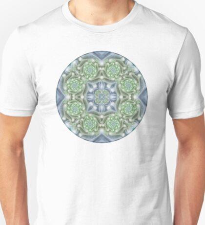 Shades of Green Mandala T-Shirt