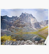 tombstone mt. & grizzly lake Poster